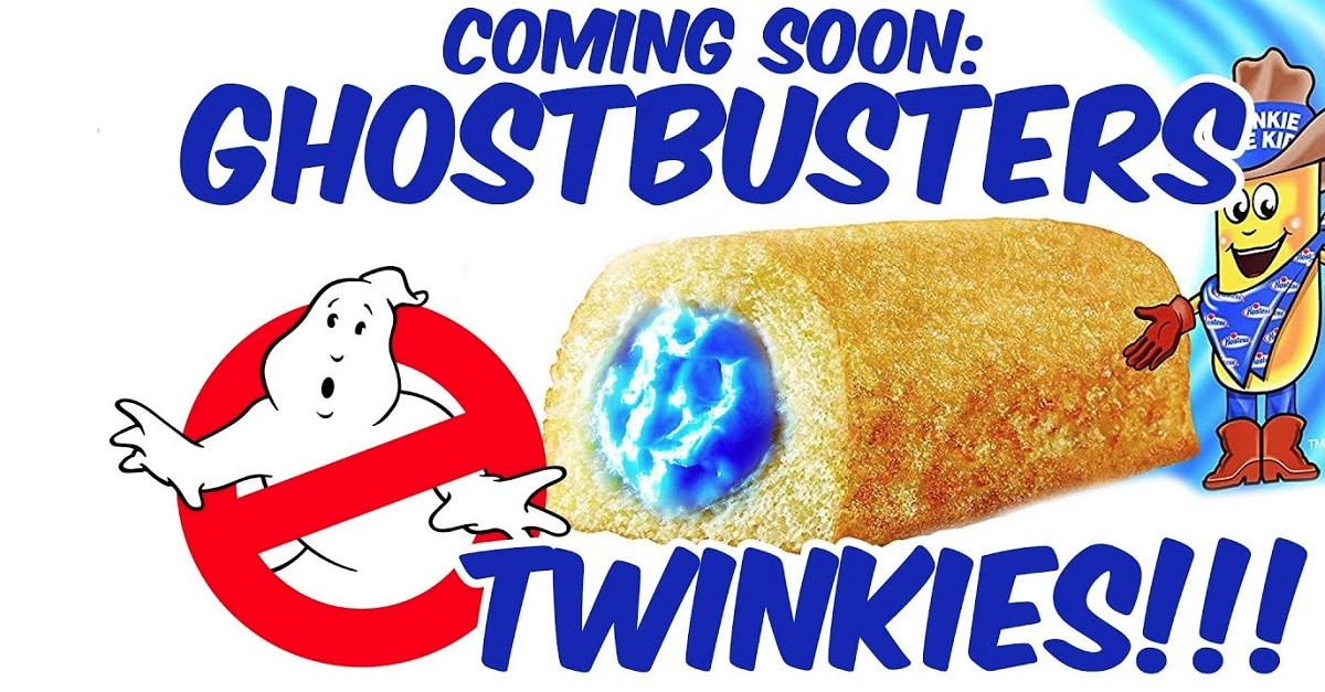 GHOSTBUSTERS Blue Slime Twinkies Hit Stores This June - GHOSTBUSTERS Blue Slime Twinkies Hit Stores This June