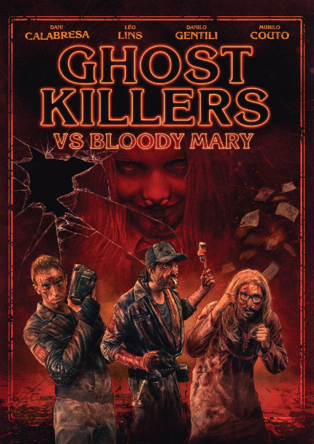 Ghost Killers vs Bloody Mary Poster 1024x1446 - Trailer: Brutal Brazilian Horror-Comedy GHOST KILLERS VS BLOODY MARY