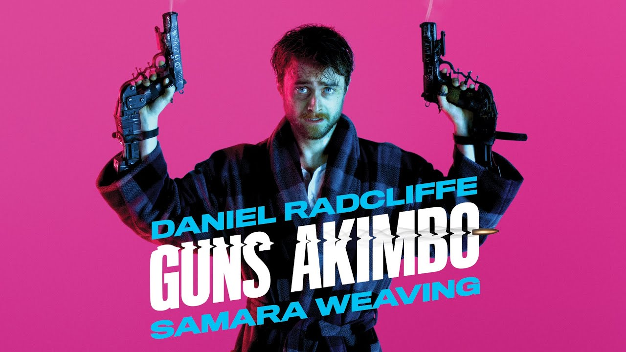 "Guns Akimbo Banner - Exclusive Track Debut: ""Enter the Ride"" from GUNS AKIMBO Soundtrack"