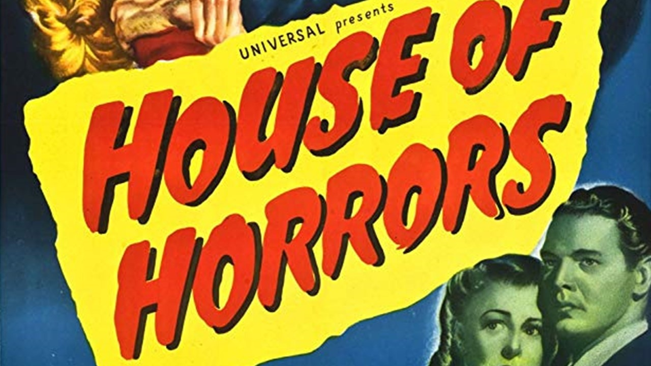 House of Horrors Banner - Scream Factory Presents UNIVERSAL HORROR COLLECTION VOL. 4 on Blu-ray 3/17