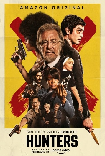 Hunters Poster - Los Angeles: Amazon Prime Video Presents the HUNTERS Grindhouse Experience
