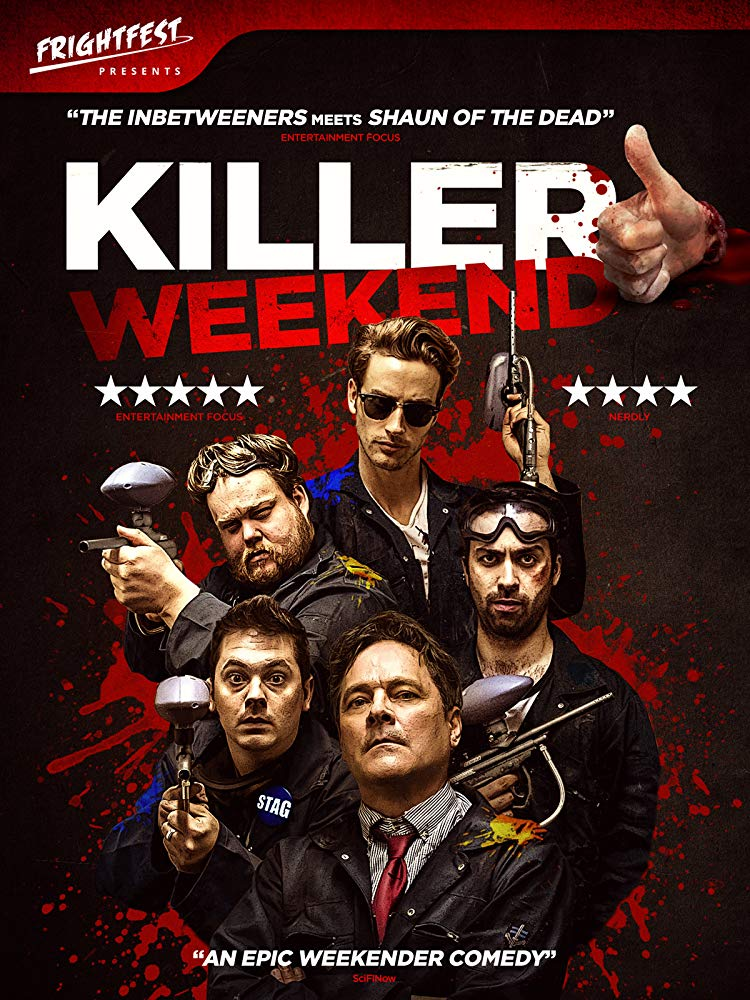 Killer Weekend Poster - Bodies Pile Up in Our Exclusive Clip from Zom-Com KILLER WEEKEND, Now Streaming