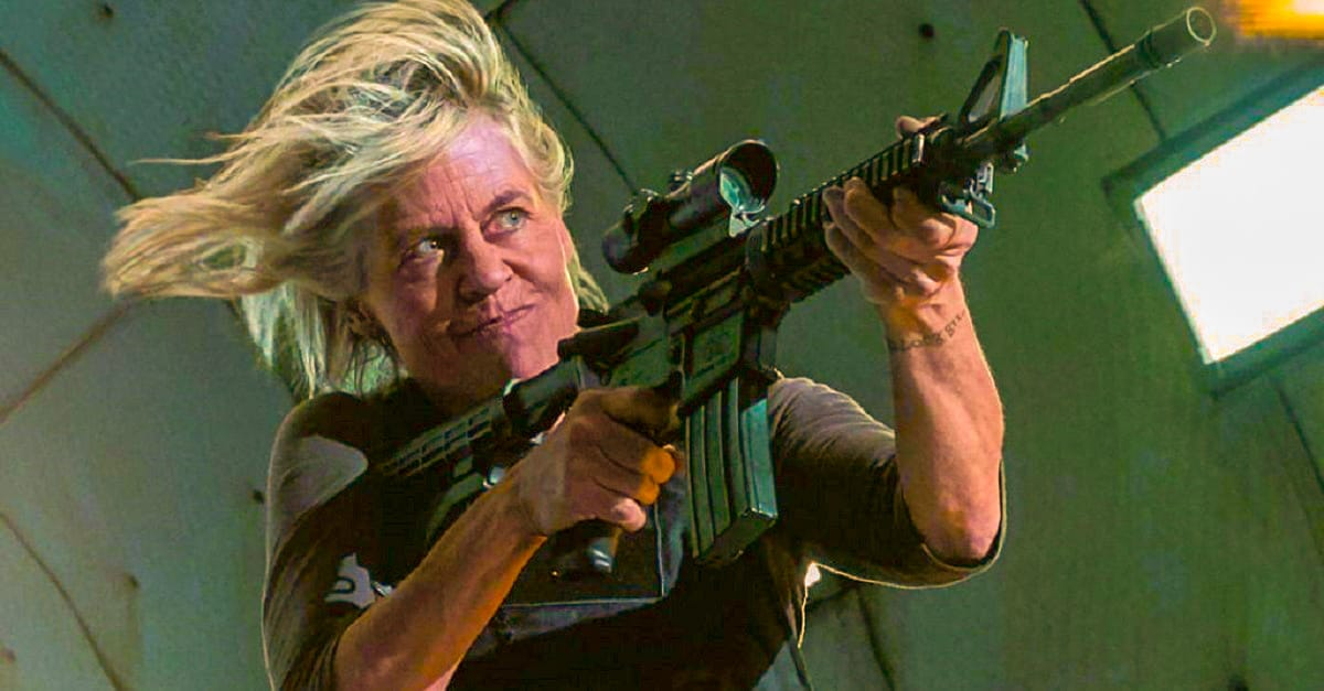 Linda Hamilton Wanted Sarah Conner To Be Fat In Terminator Dark Fate - Linda Hamilton Wanted Fat Sarah Conner In TERMINATOR: DARK FATE