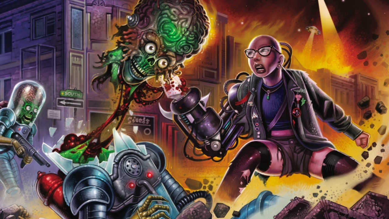 Mars Attacks Uprising Banner - Sneak Peek: MARS ATTACKS: UPRISING Trading Cards Licensed by Topps