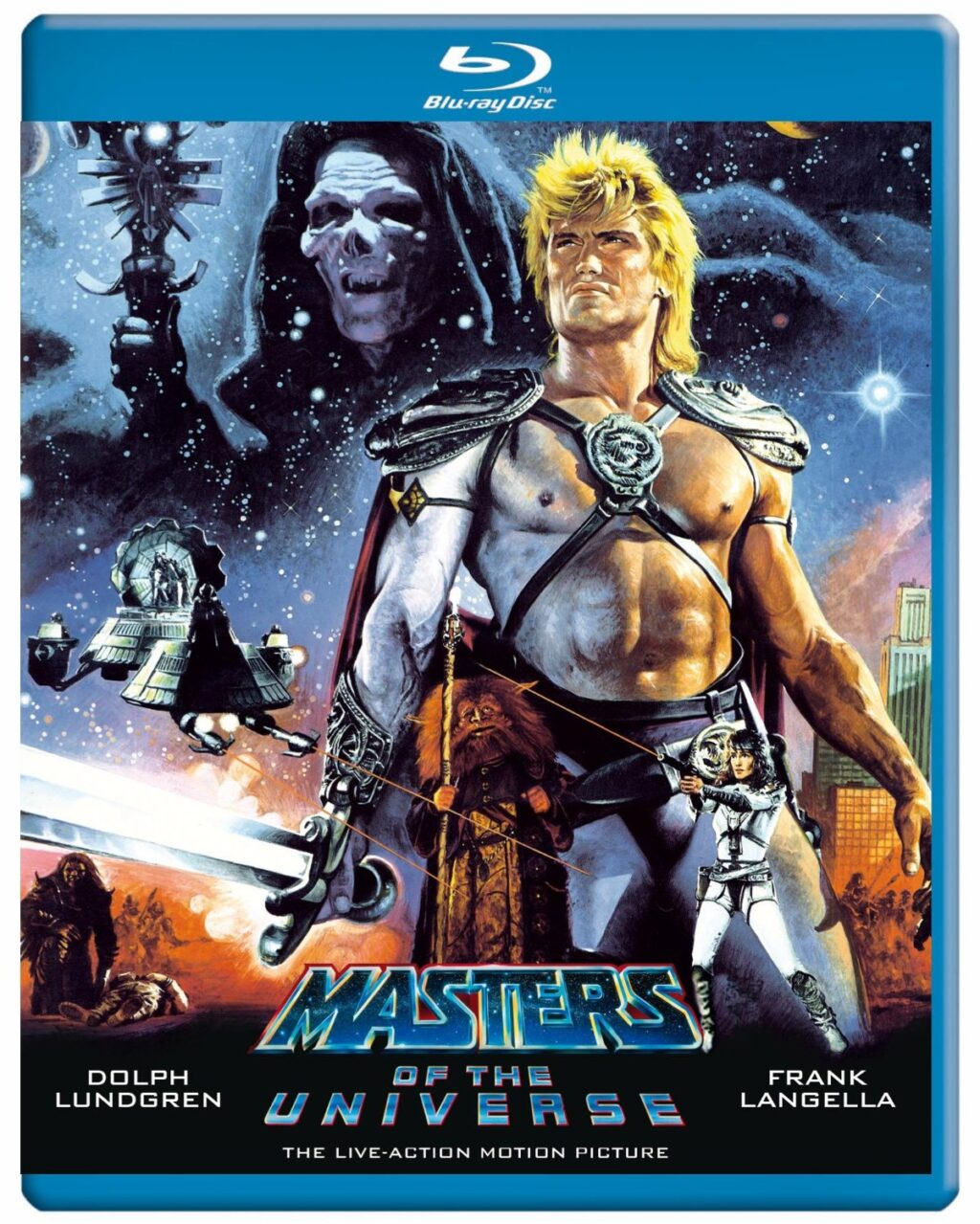 Masters of the Universe bluray 1024x1279 - This Day in Horror History: MASTERS OF THE UNIVERSE was released in 1987