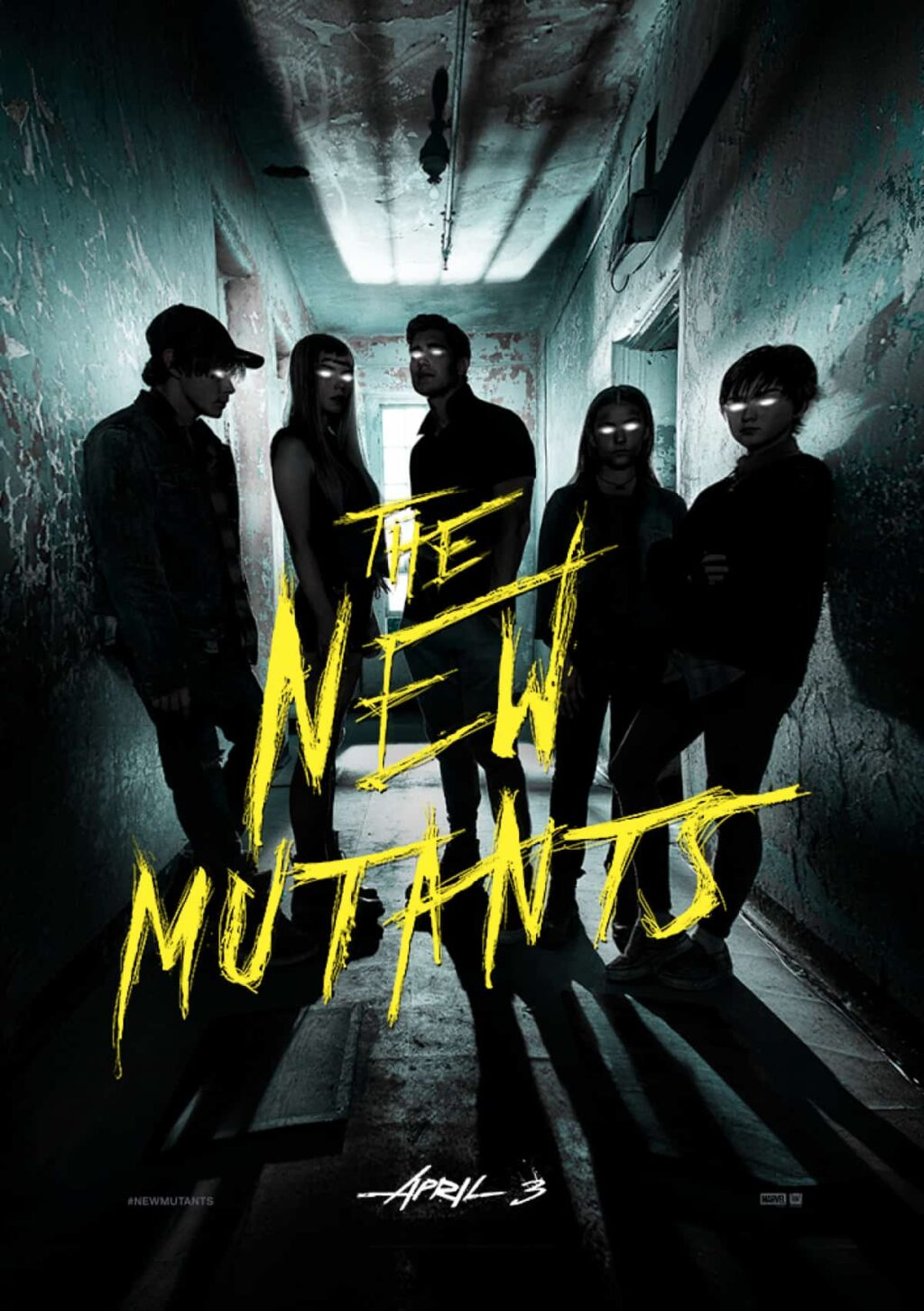 New Mutants Poster 4 DC 2 1 1024x1452 - THE NEW MUTANTS Inspired by DREAM WARRIORS & THE SHINING