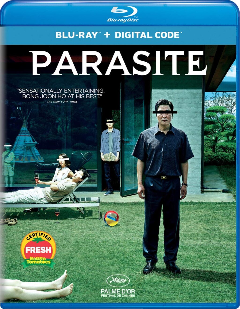 """PARASITE BLU RAY 1024x1317 - PARASITE Director Wants to Make a """"Different"""" Kind of Musical"""