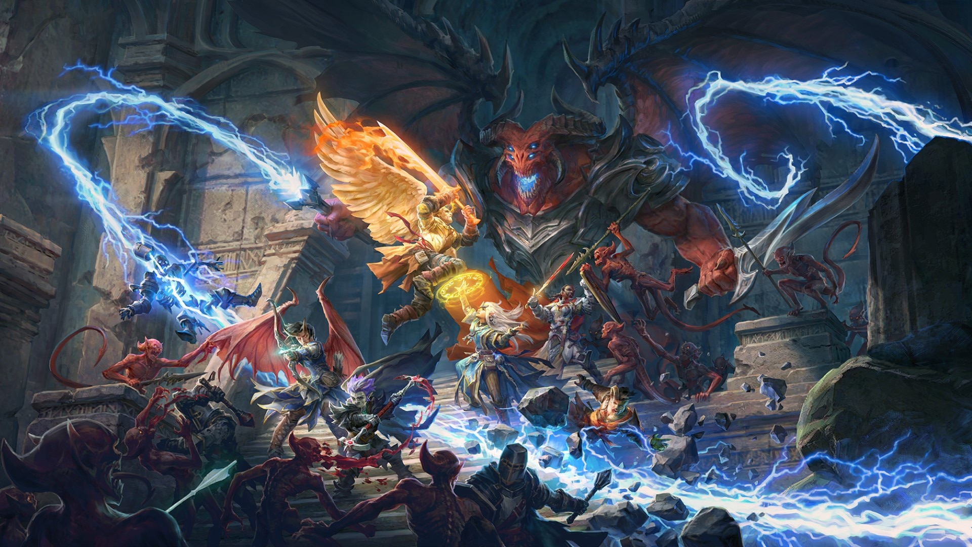 Pathfinder Wrath of the Righteous - PATHFINDER: WRATHER OF THE RIGHTEOUS REACHES $1M ON KICKSTARTER, MORE STRETCH GOALS TO COME