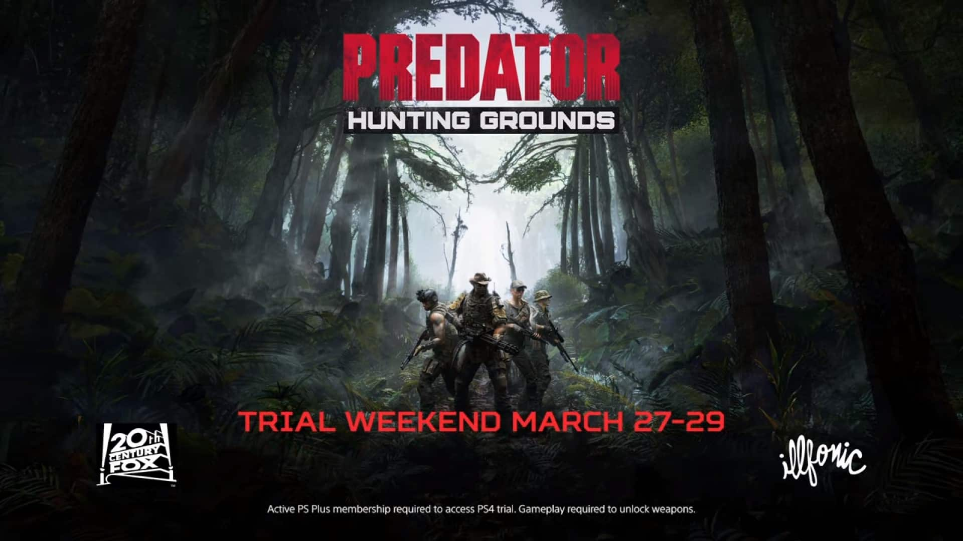 Predator  Hunting Grounds Trial Weekend March 27 29   PS4 0 35 screenshot - PREDATOR: HUNTING GROUNDS FREE WEEKEND COMING MARCH 27TH