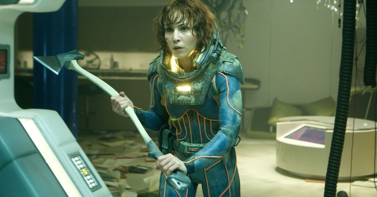 Prometheus II - Noomi Rapace Joins Alexandre Aja-Produced Thriller O2