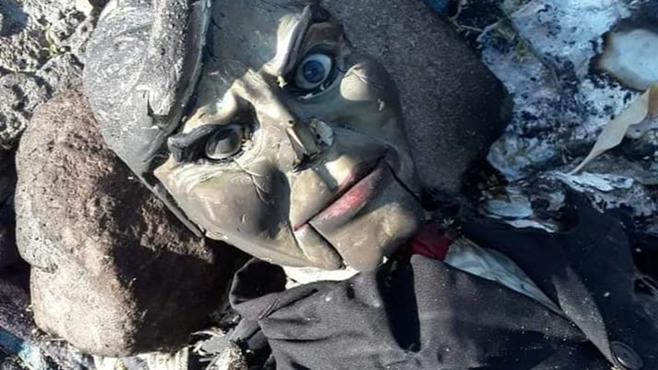 Rio Grande Dummy banner - On the Case: Help Us Solve the Mystery of a Creepy Ventriloquist Dummy Found in the Rio Grande!