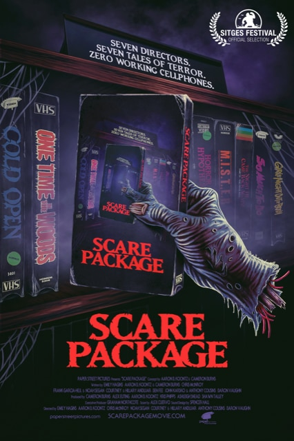 Scare Package Poster - New Horror-Comedy Anthology SCARE PACKAGE Releases 1st Trailer