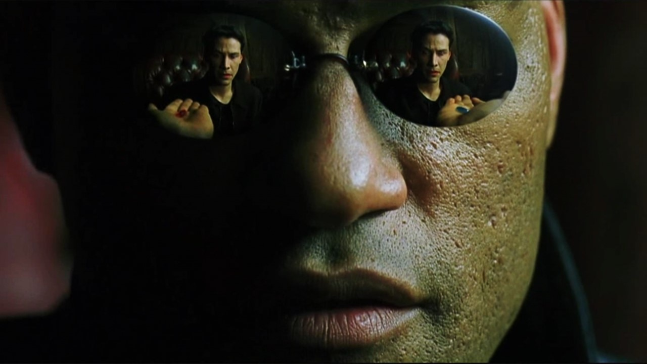 The Matrix Banner - Video: Neo Takes the Blue Pill in Hysterical THE MATRIX DeepFake