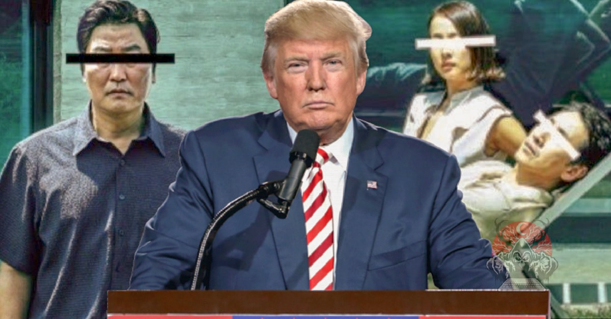 Trump Angry South Korean PARASITE Won Best Picture - Trump Angry PARASITE Won Best Picture