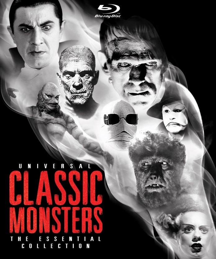 Universal Classic Monsters The Essential Collection Blu ray - Paul Feig's DARK ARMY Will Be A True Monster Movie