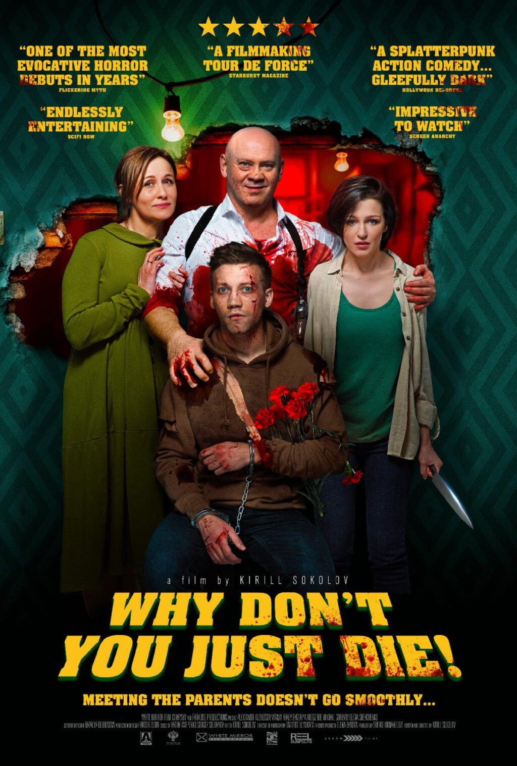 Why Dont You Just Die Poster 1024x1517 - NSFW Trailer: Arrow Video Asks WHY DON'T YOU JUST DIE! In Select Theaters 4/10