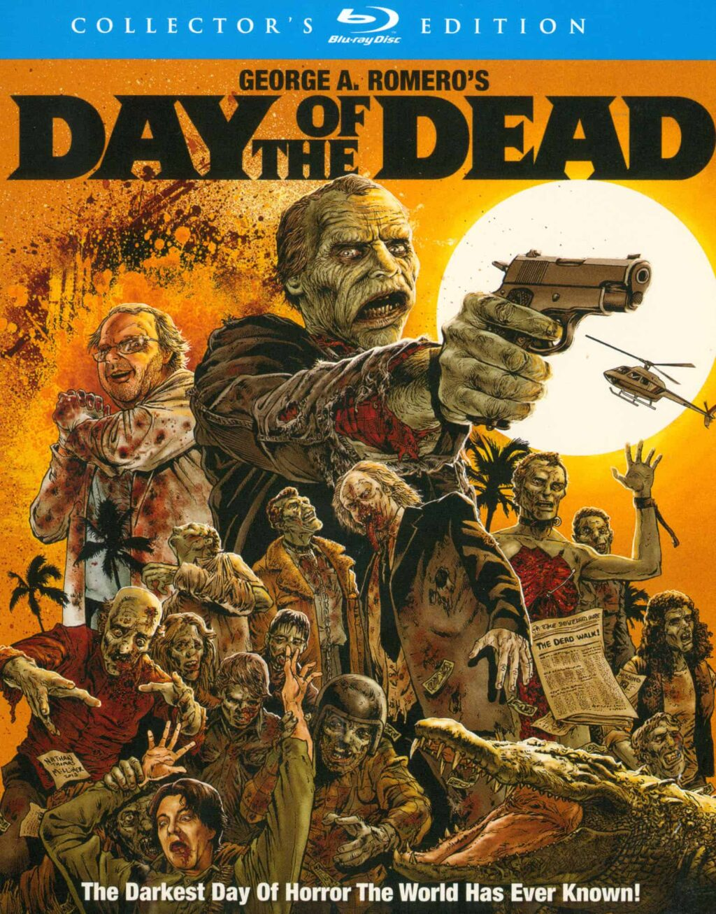 day of the dead 1985 blu ray 1024x1307 - DAY OF THE DEAD Series Coming to SyFy in 2021