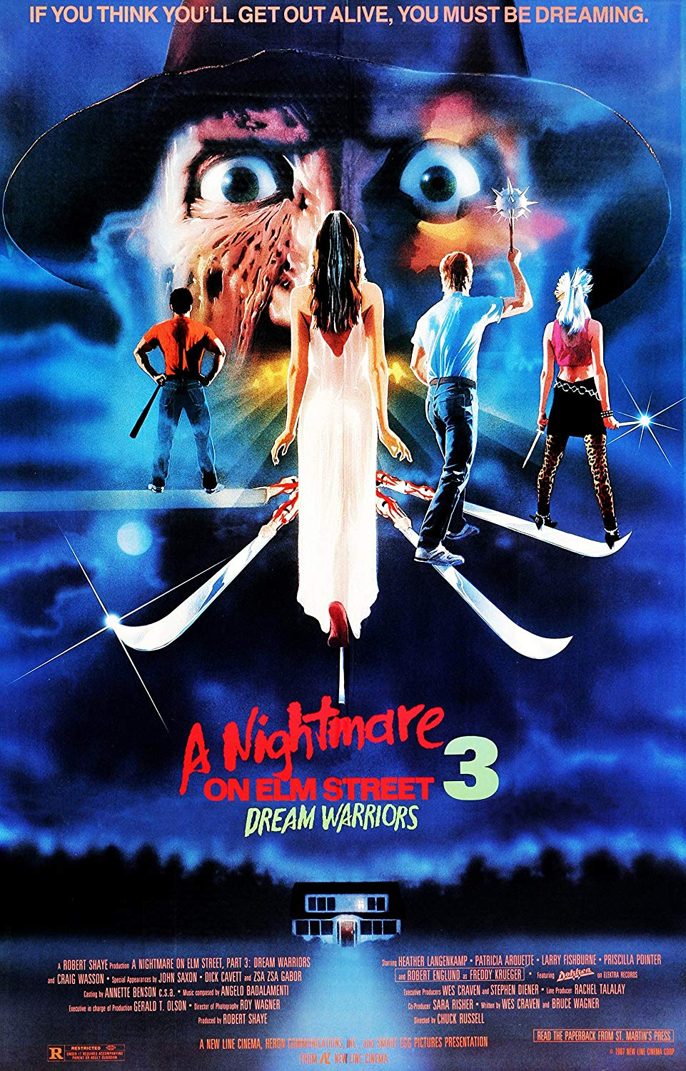 dream warriors poster - Robert Englund Wants DREAM WARRIORS Reboot