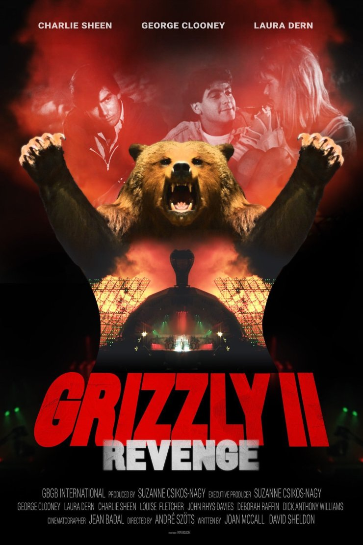 grizzly II poster - GRIZZLY 2 With George Clooney & Charlie Sheen Finally Finished After 37 Years!