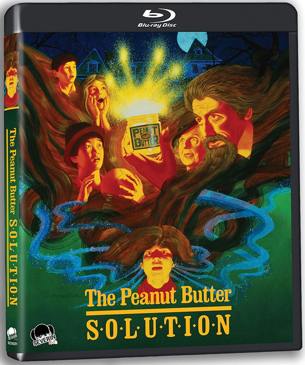 peanut butter solution blu 1024x1226 - THE PEANUT BUTTER SOLUTION Blu-ray Review - A Sticky Situation For Scared Kids