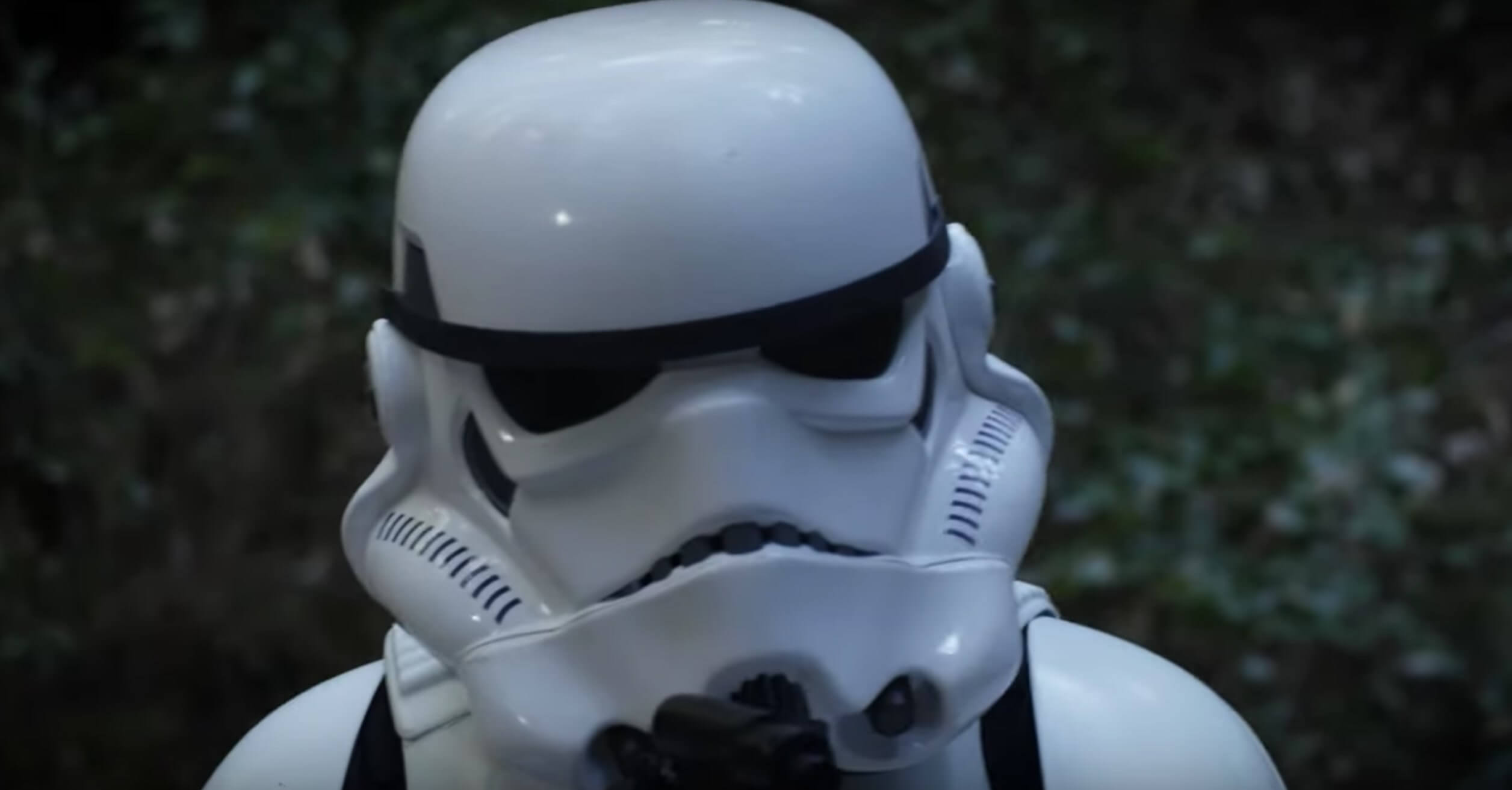 star wars alone fan film stormtrooper 1 - Watch An Ewok Eat A Stormtrooper in Disturbing New Fan Film STAR WARS: ALONE
