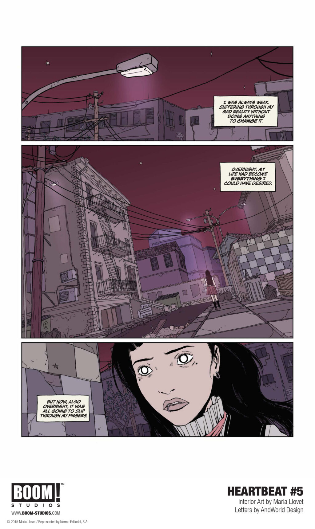unnamed 12 1 1024x1722 - First Look at Maria Llovet's HEARTBEAT #5 from BOOM! Studios
