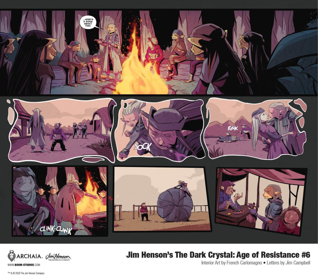 unnamed 46 1024x895 - First Look at JIM HENSON'S THE DARK CRYSTAL: AGE OF RESISTANCE #6