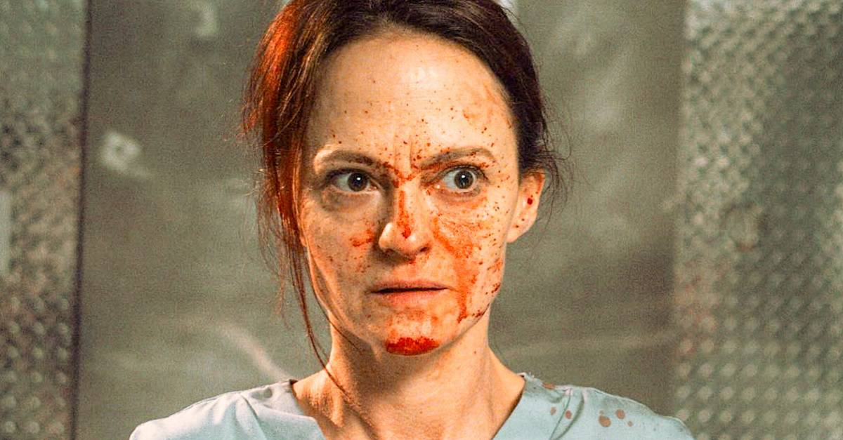 12 HOUR SHIFT edited - First Look: Brea Grant's 12 HOUR SHIFT with Angela Bettis Premieres at Tribeca in April