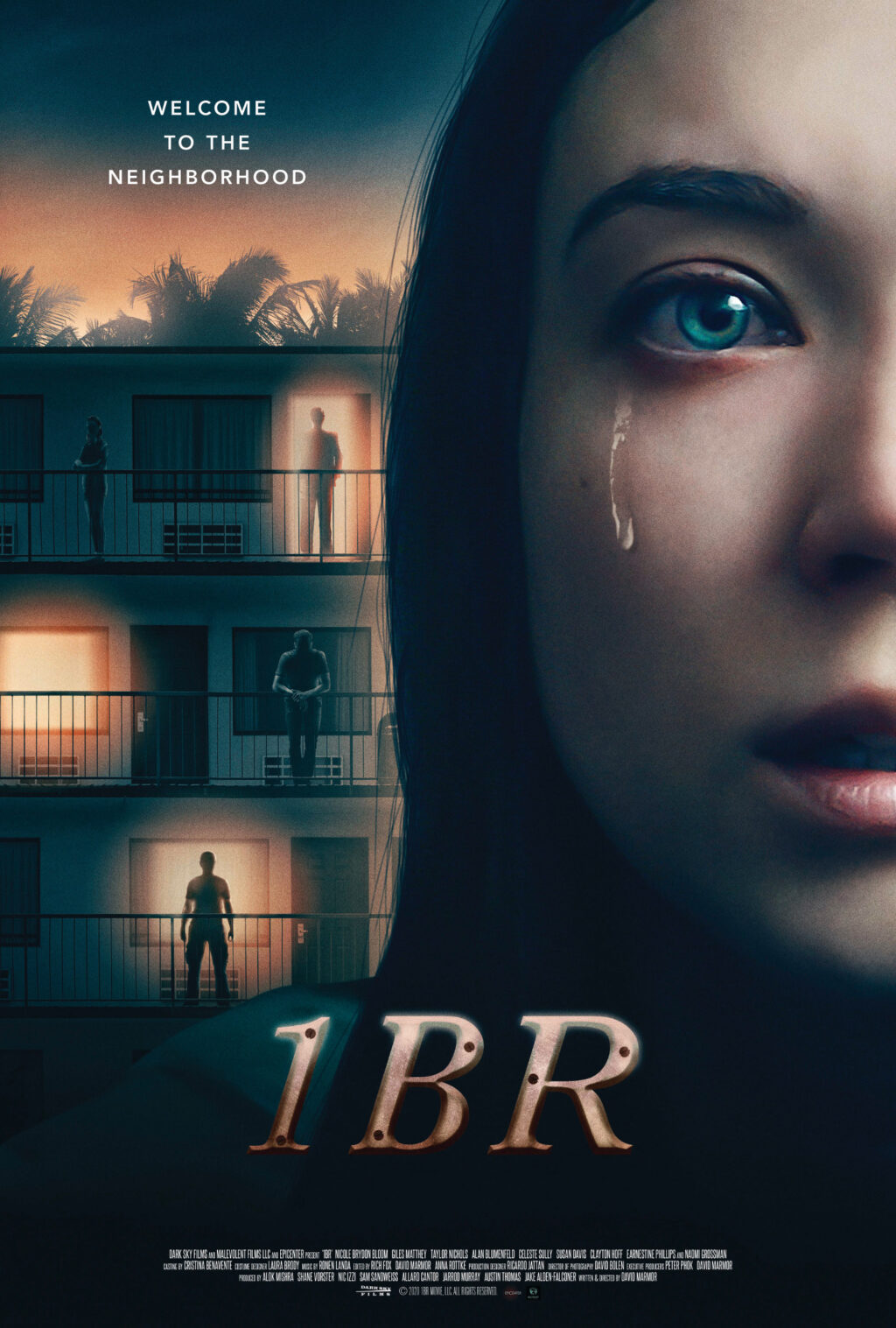 1BR Theatrical Poster 300dpi 5x7 1 1024x1517 - Trailer & Poster Premiere: Dark Sky Films Brings 1BR to Theaters and Digital 4/24