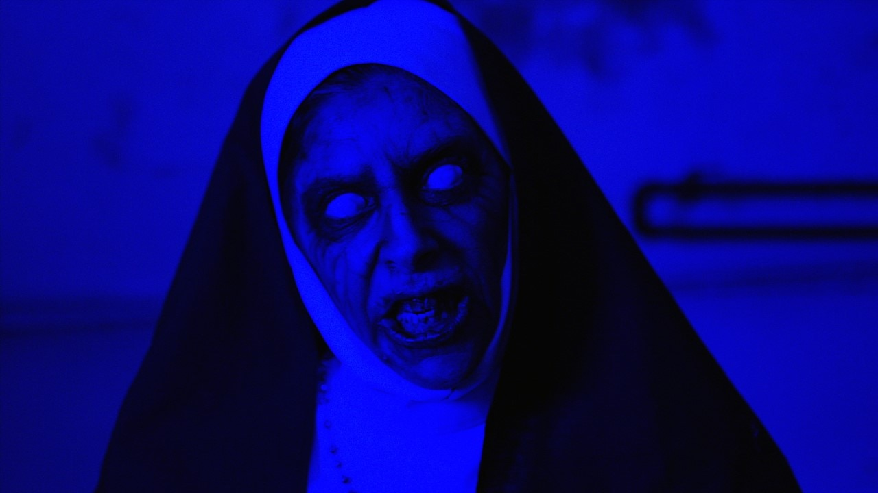 A Nuns Curse Banner - Don't Mess with Sister Monday! Trailer for A NUN'S CURSE Starring Felissa Rose