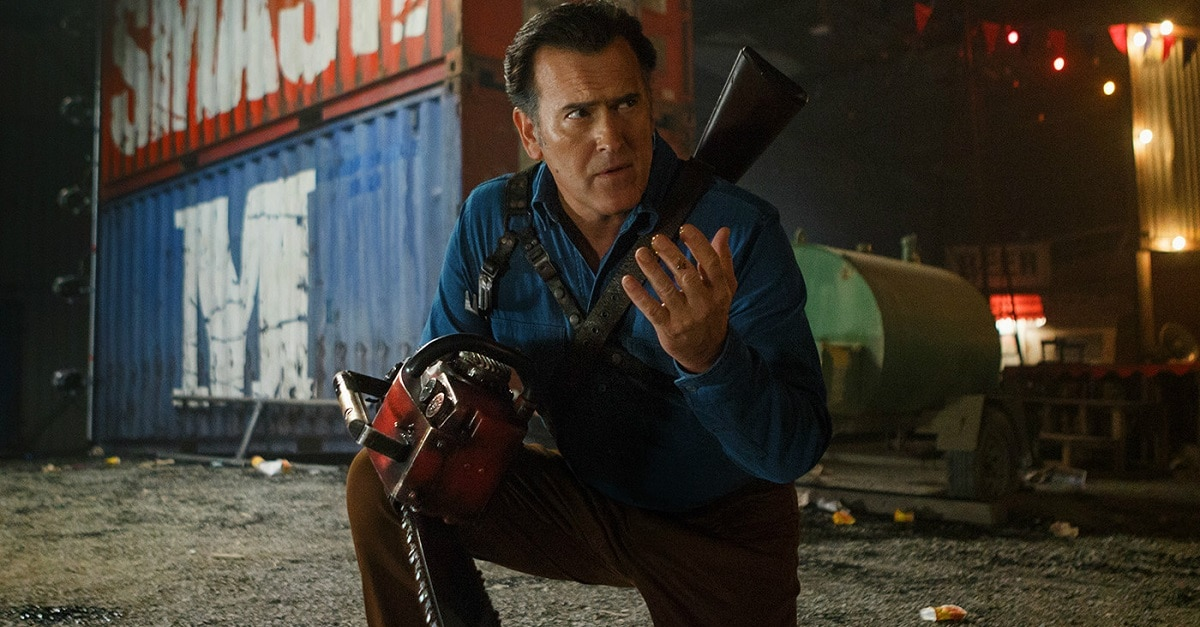 ASH VS EVIL DEAD - Bruce Campbell Reminds Us Now's The Perfect Time to Binge ASH VS EVIL DEAD on Netflix