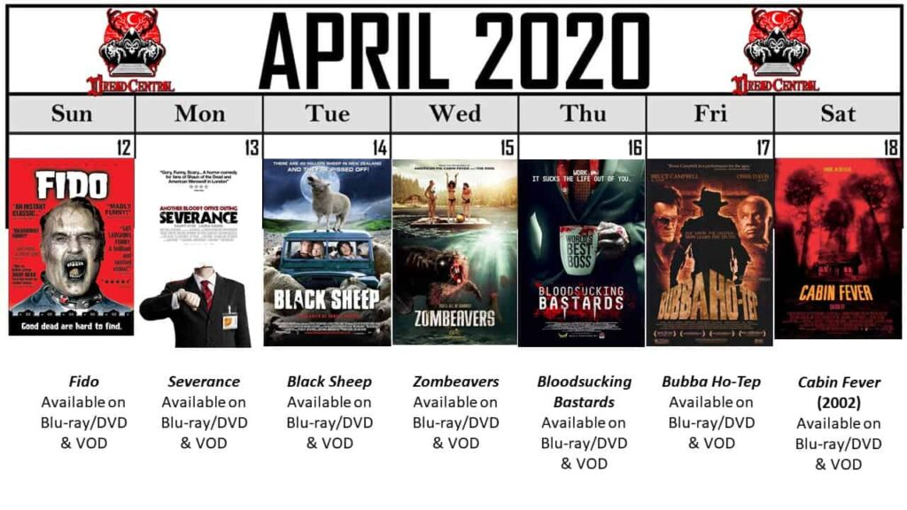April 2020 Week 3 1024x576 - Our 366-Day Horror Challenge Continues with a Month of Horror Comedies (No Fooling!)