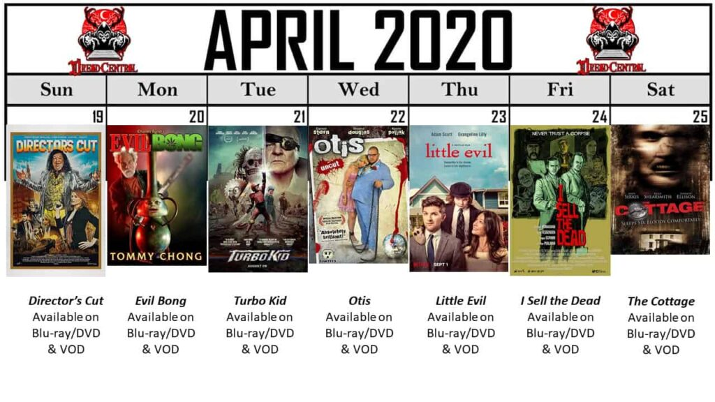 April 2020 Week 4 1024x576 - Our 366-Day Horror Challenge Continues with a Month of Horror Comedies (No Fooling!)