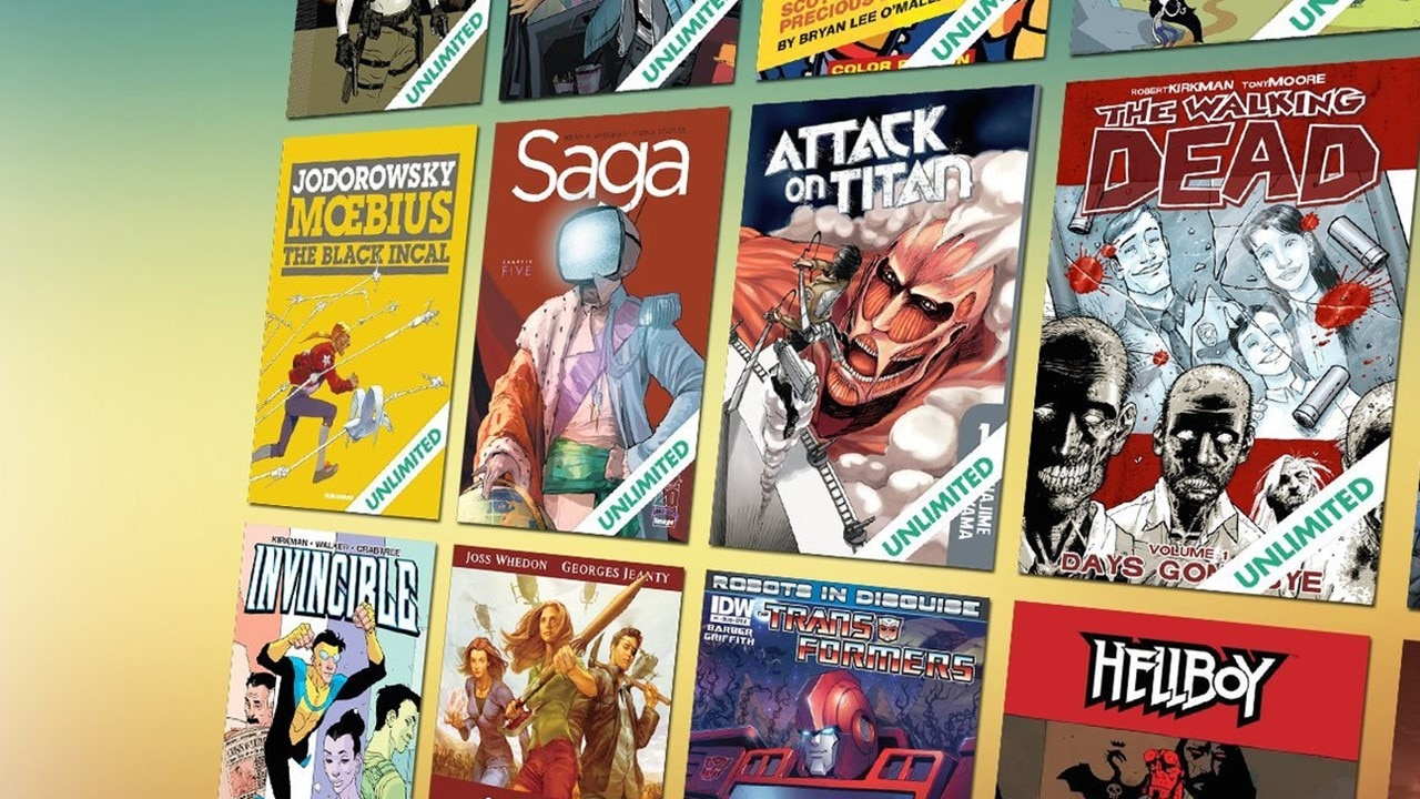 ComiXology Banner - Read 25,000 Digital Comics for 60-Days Free from ComiXology