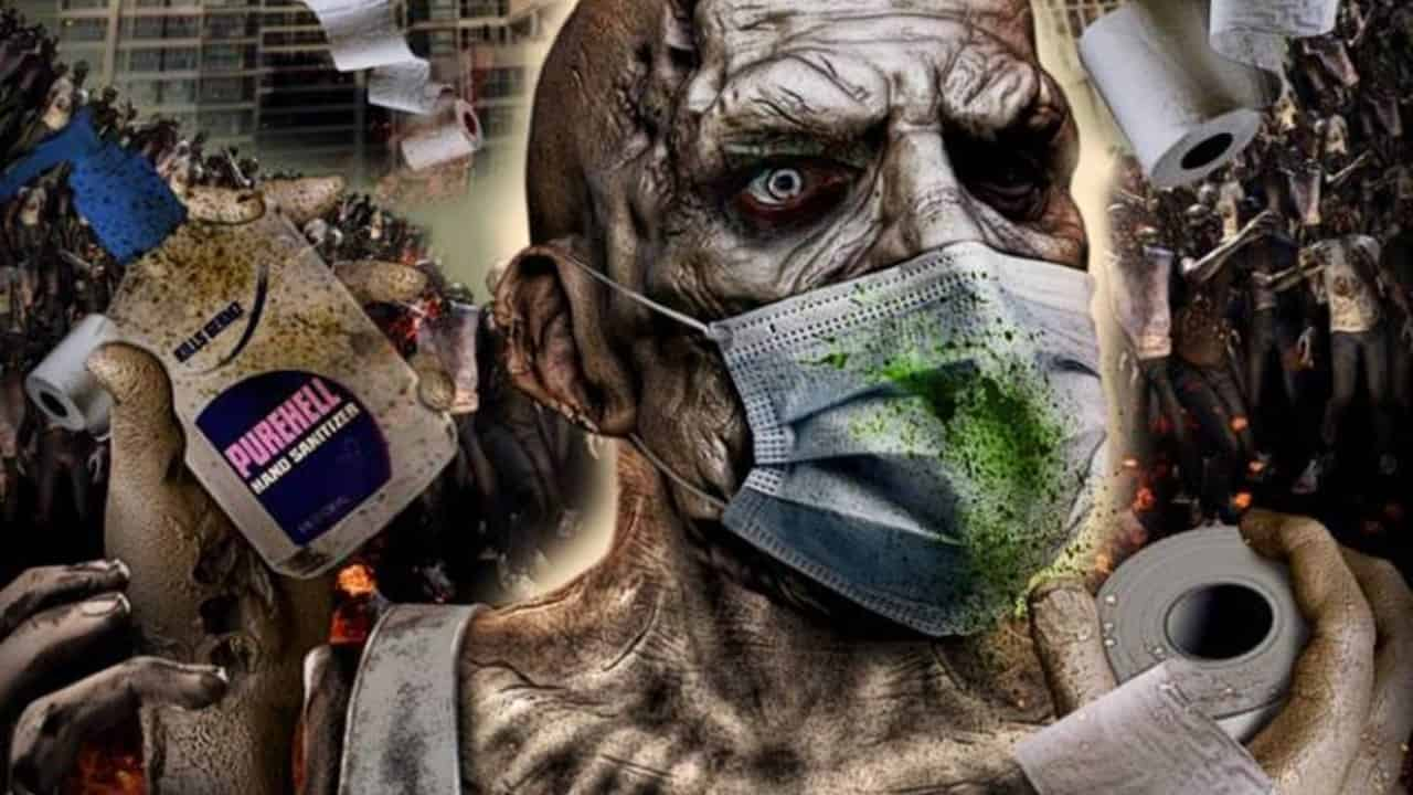 """Corona Zombies Banner - Contest: Win a CORONA ZOMBIES """"Survival Kit"""" + Exclusive Clips from Upcoming Pandemic Horror"""