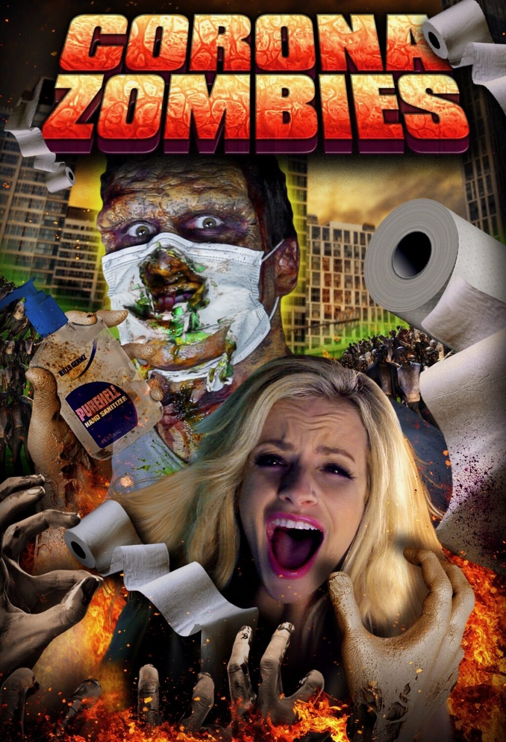 Corona Zombies Poster 2 1024x1502 - Teaser Trailer: Full Moon's CORONA ZOMBIES Wipes You Out On 4/10