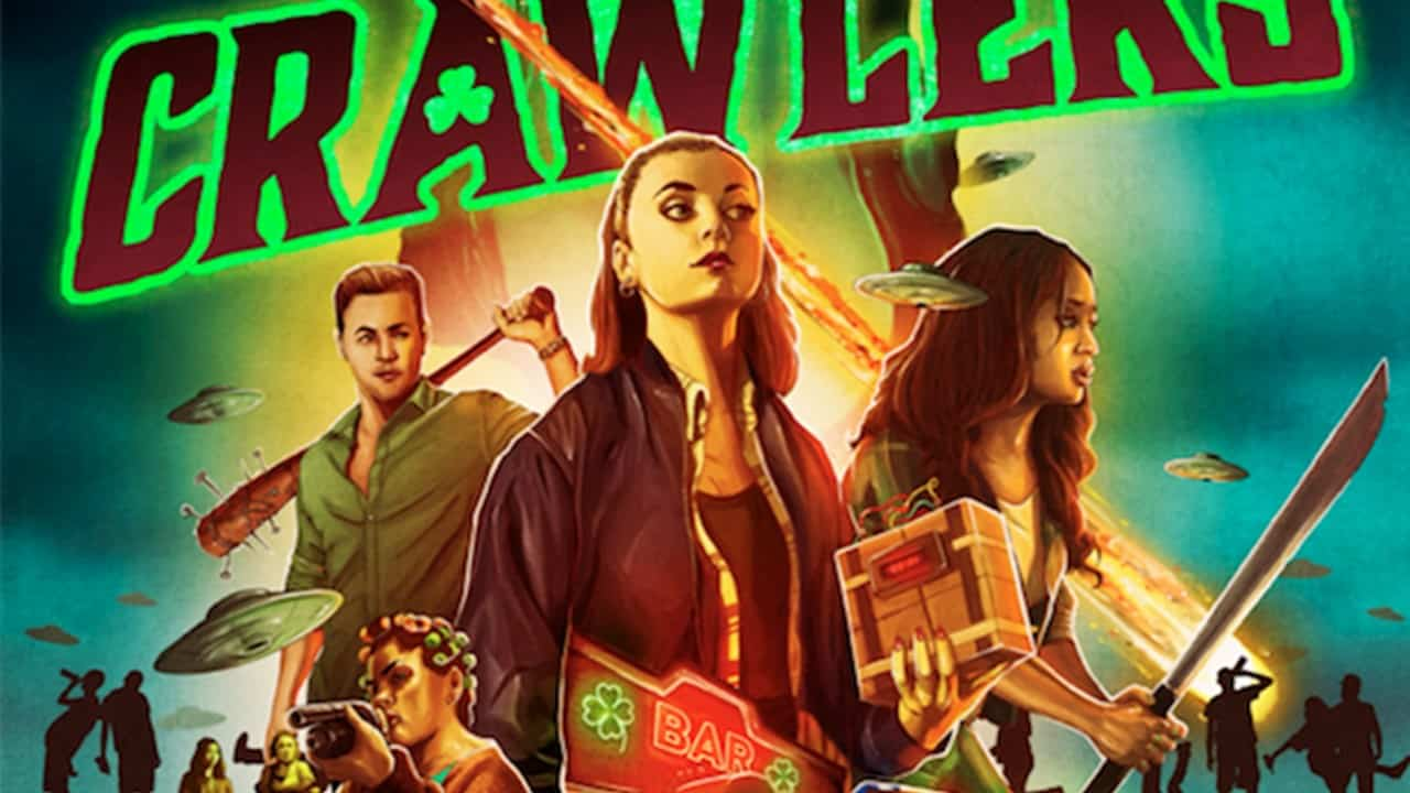 Crawlers Banner - New Trailer for Next INTO THE DARK Movie: CRAWLERS