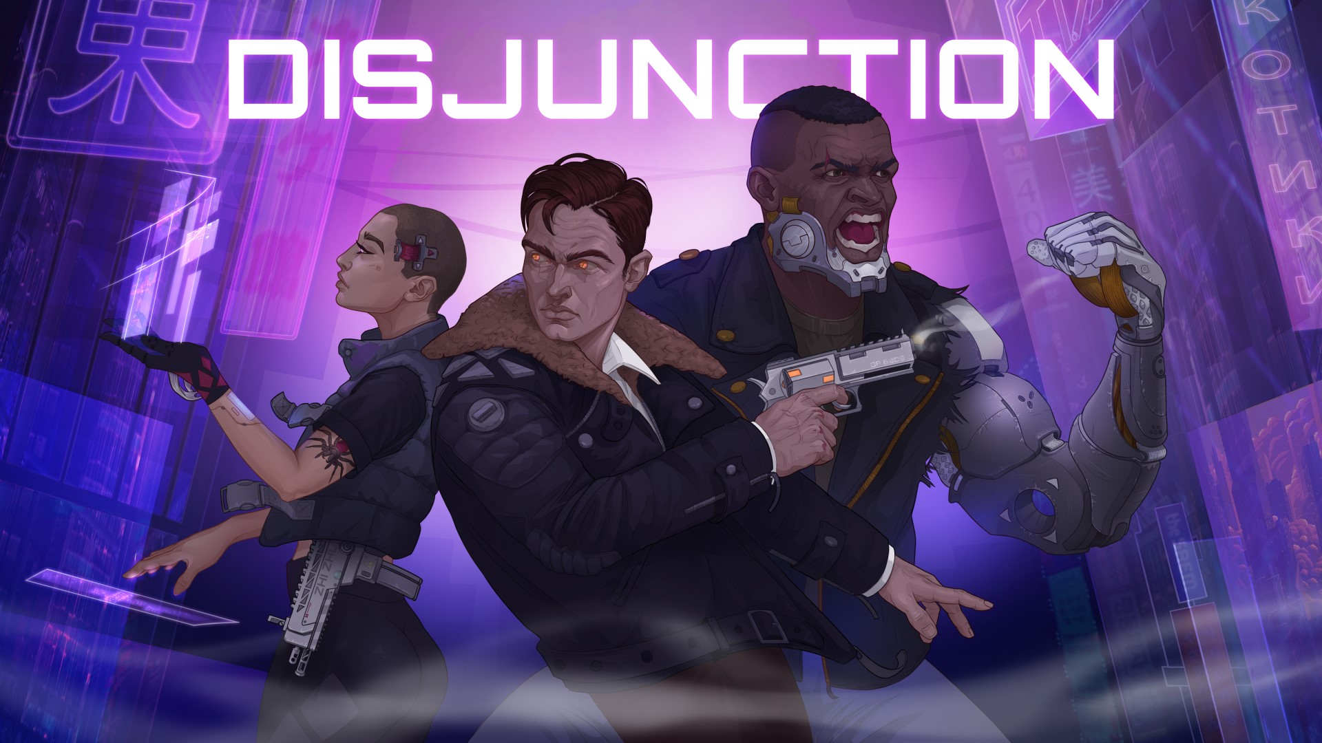 Disjunction Key Art JPG - [PAX EAST 2020] DISJUNCTION INTERVIEW W/ ERWIN LECUN