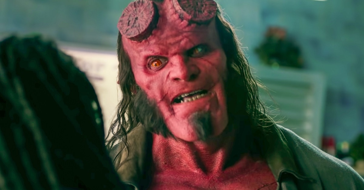 Hellboy edited - HELLBOY: David Harbour Blames Del Toro Fans for Reboot's Failure