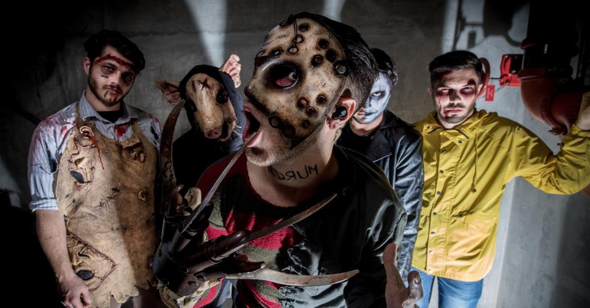 Ice Nine Kills - Horror-Themed Metal Band Ice Nine Kills Launch Charity T-Shirt To Aid Musicians