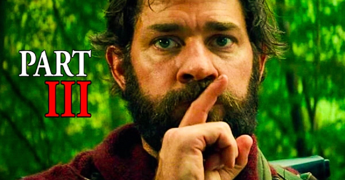 John Krasinski Isnt Ruling Out A QUIET PLACE PART III dc - John Krasinski Prepared To Make A QUIET PLACE PART III