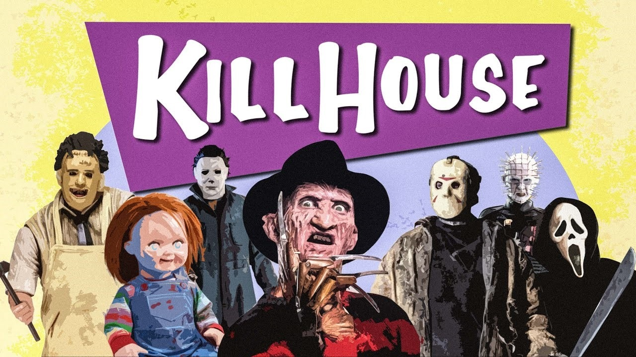 Kill House Banner - Laugh in the Face of Fear: Check Out this Parody of FULL HOUSE with Horror Icons