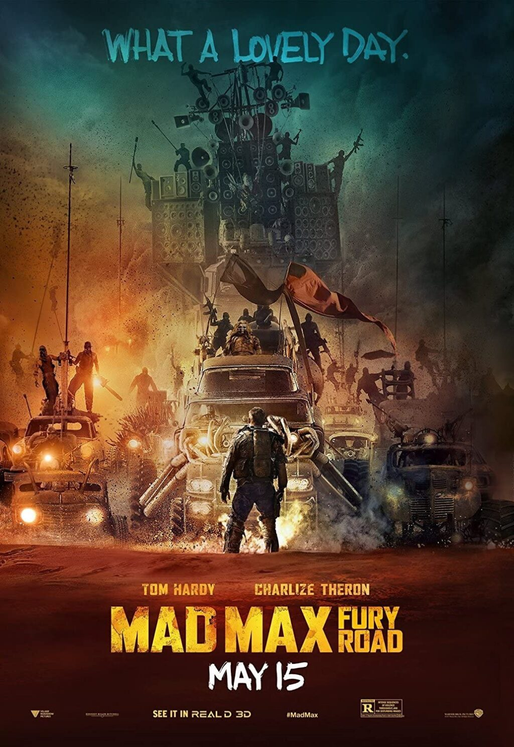 MAD MAX FURY ROAD poster 1024x1490 - George Miller Wants FURIOSA Spin-Off  To Shoot with Anya Taylor-Joy in 2021
