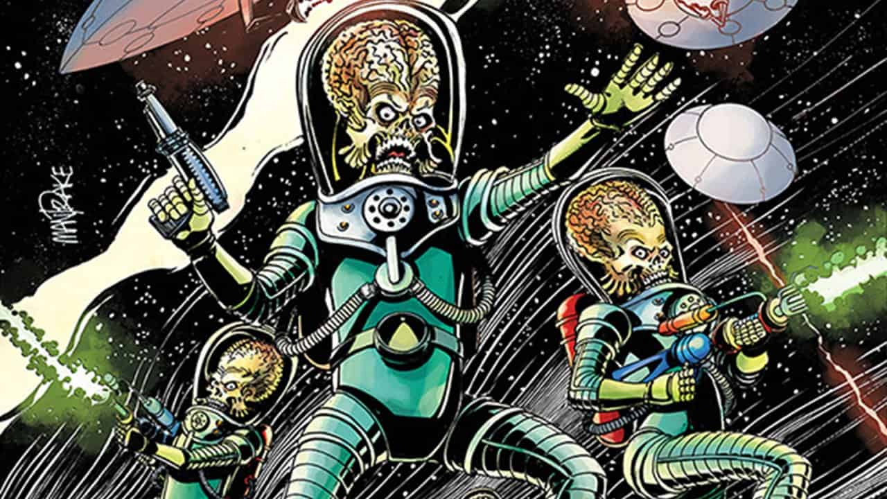 Mars Attacks Comic Banner - More Free Comics from Dynamite & ComiXology!