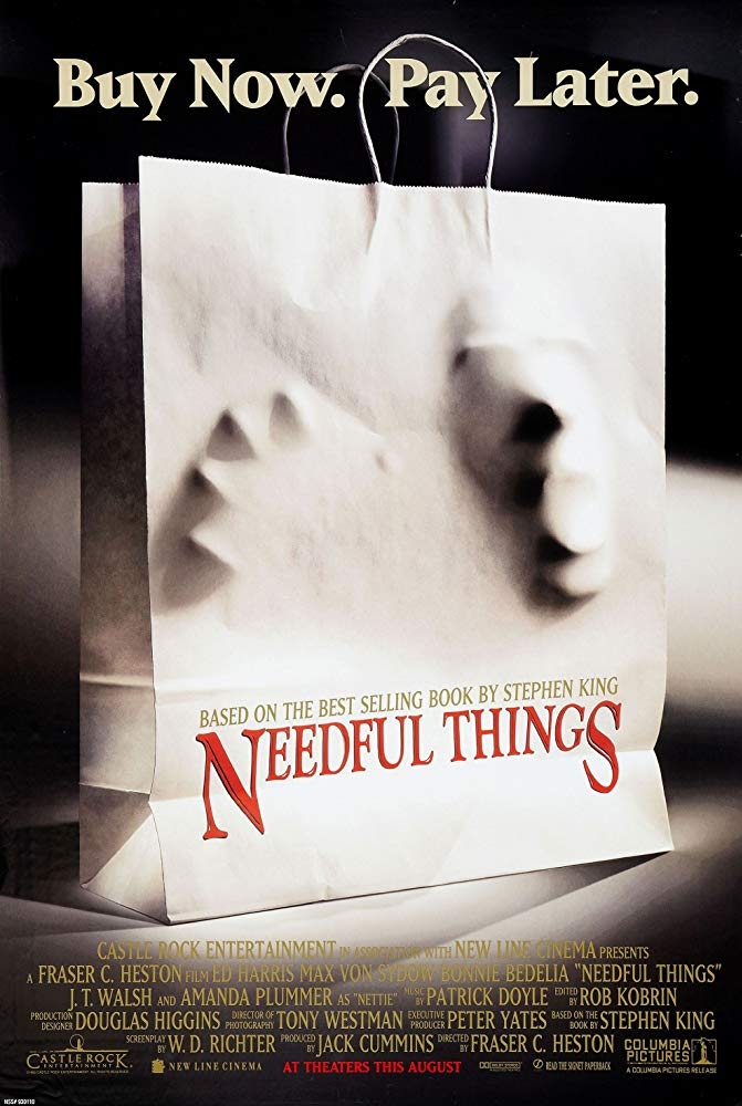 Needful Things Poster - Angels, Demons and Everything Between: The Horror Legacy of Max von Sydow