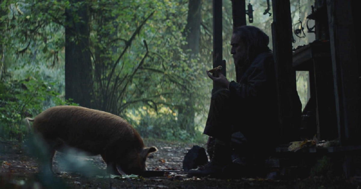 Nicolas Cage PIG First Look - First Look: Nicolas Cage Revenge Thriller PIG Sounds Like JOHN WICK - With Pigs