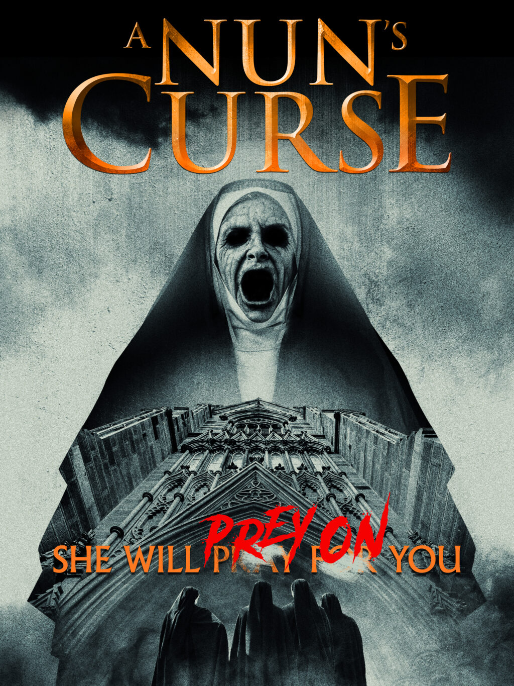 NunsCurse KeyArt 3x4 2160x2880 1024x1365 - Don't Mess with Sister Monday! Trailer for A NUN'S CURSE Starring Felissa Rose