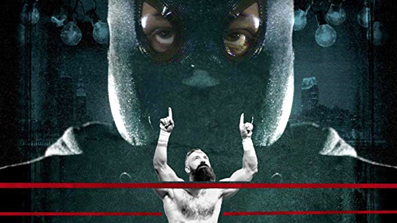 Powerbomb banner - Horror & Wrestling Collide in POWERBOMB by BJ Colangelo & Zach Shildwachter