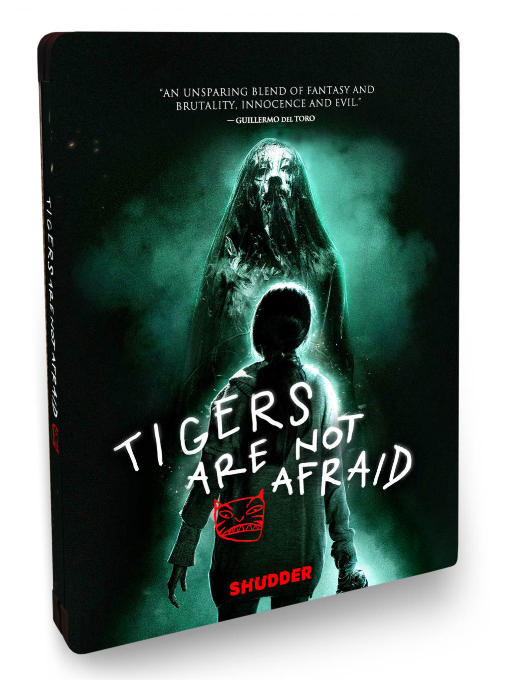 TANA STEELBOOK COVER 1024x1362 - TIGERS ARE NOT AFRAID Available on DVD & DVD/Blu-ray SteelBook on May 5th