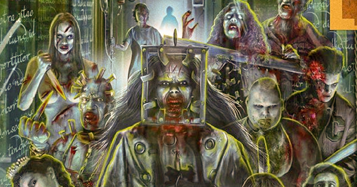 THIRTEEN GHOSTs Blu ray edited - THIRTEEN GHOSTS Collector's Edition Blu-ray Splits You In Half Length-Wise On 6/9